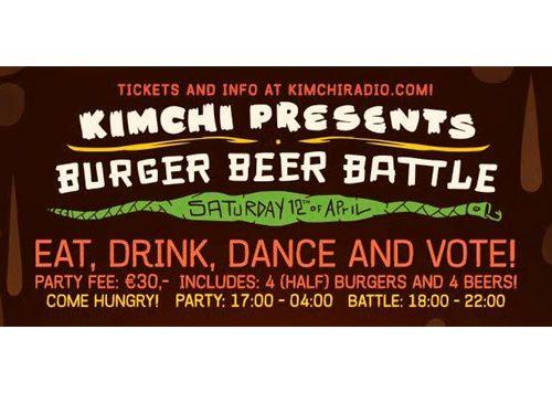 Burger Beer Battle, Amsterdam (12 april 2014)