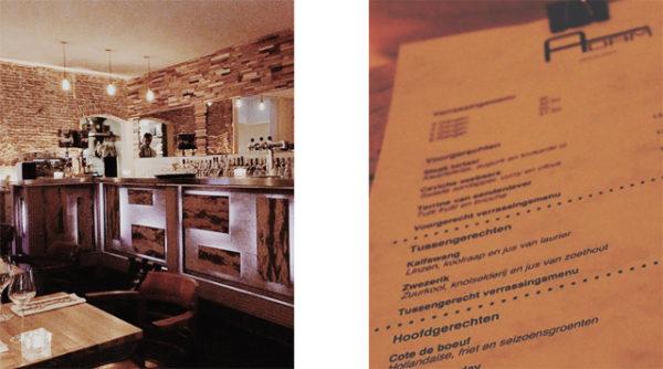 Restaurant Adam, Amsterdam