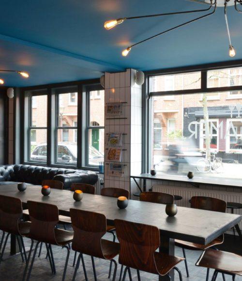 Restaurant Paskamer Amsterdam in een schatkamer