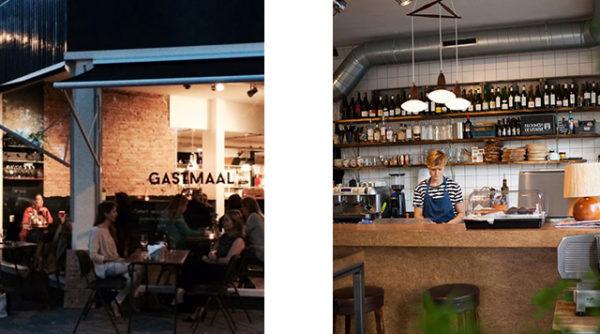 Gastmaal En De Tafel.Gastmaal Cafe Utrecht Barts Boekje