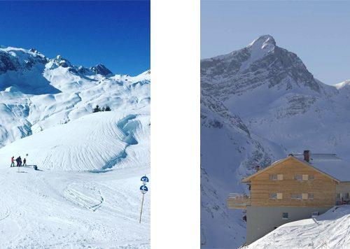 Balm-Alpe Lech am Arlberg, Oostenrijk