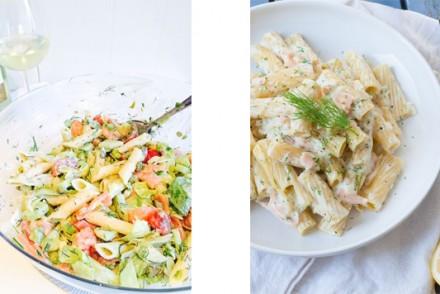 Barts-Boekje-pasta met zalm makkelijke maandag