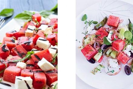 Barts-Boekje-watermeloen salade makkelijke maandag