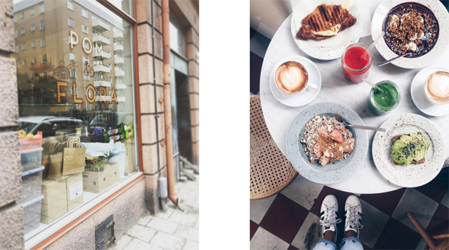 Barts-Boekje-pom en flora stockholm