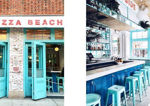Pizza Beach Club (LES), New York