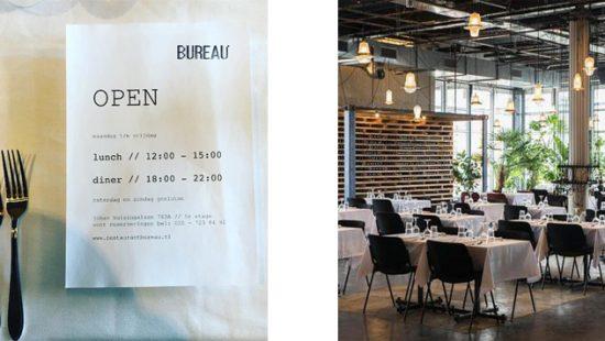 Restaurant bureau amsterdam barts boekje