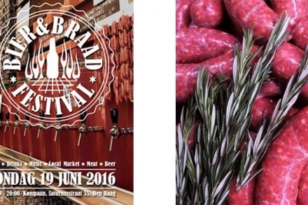 Bier en Braad festival, Den Haag - Vaderdag 19 juni