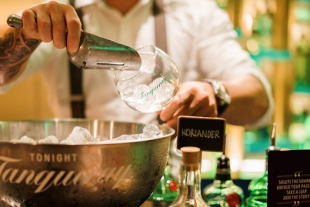 Speakeasy Pop-Up Tanqueray Bar 1830, Amsterdam