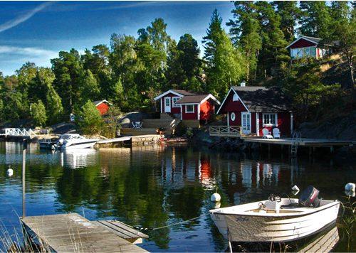 8 x Archipelago Zweden (Stockholm)