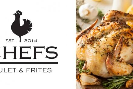 Barts-Boekje-chefs poulet et frites