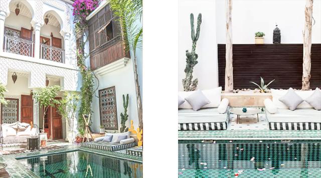 Top 5 airbnb logeeradressen in marrakech barts for Airbnb marrakech