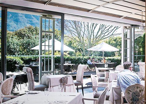 Restaurant Myoga Kaapstad, Zuid-Afrika