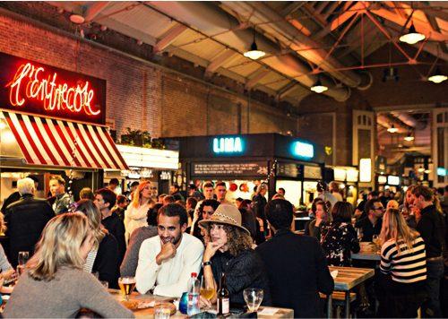 De (vernieuwde) Foodhallen Amsterdam