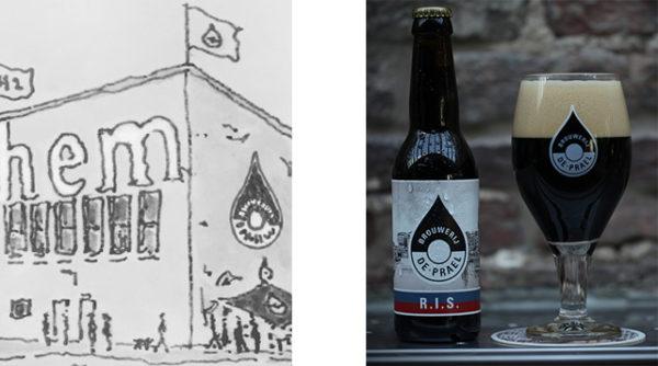 Brouwerij De Prael Den Haag.Brouwerij De Prael West Barts Boekje