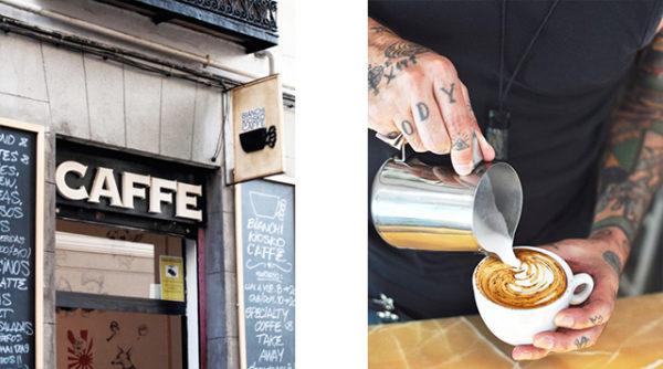 Bianchi Kiosko Caffé, Madrid (Malasaña)