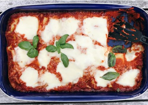 BARTS KOOKBOEKJE: de love Lasagna