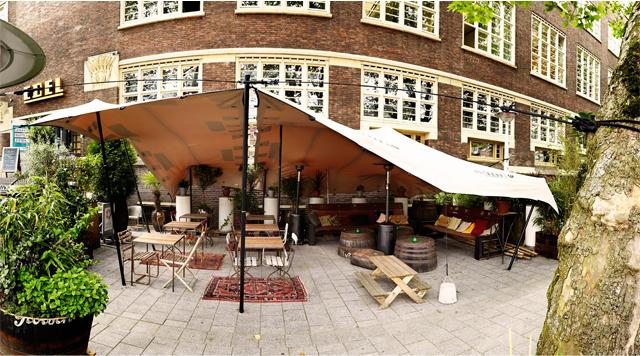Dé terrassen van Amsterdam du moment (met lang zon ... George Marina Amsterdam