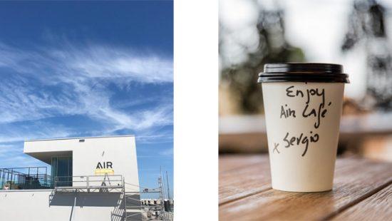 AIRCafé + AIRrepublic by Sergio Herman