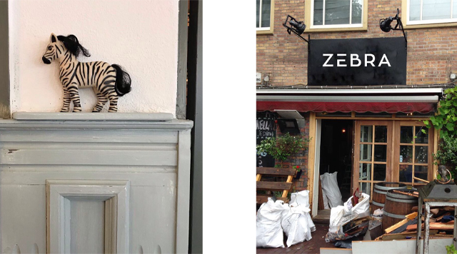 Barts-Boekje-Bistro Zebra Amsterdam Oost