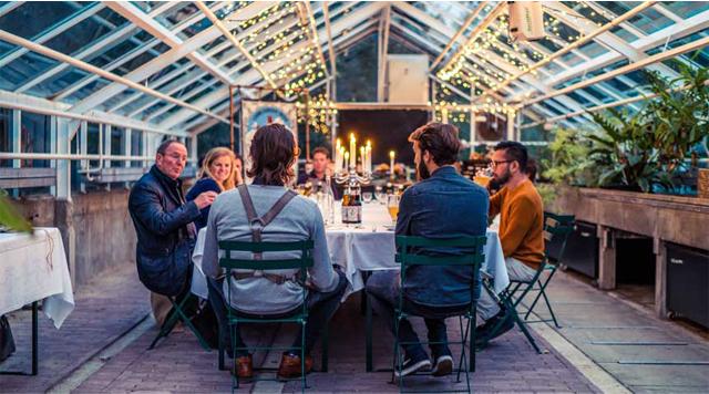 Barts-Boekje- lowlander botanica dinner
