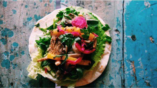Vegan taco's @ Chiapas Taco Cartel