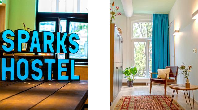 Barts-Boekje-sparks hostel