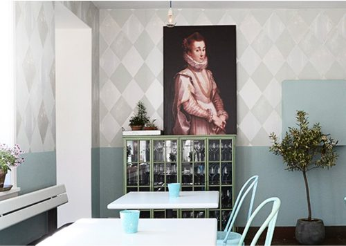 Garden Café Rosenborg Kopenhagen, Denemarken