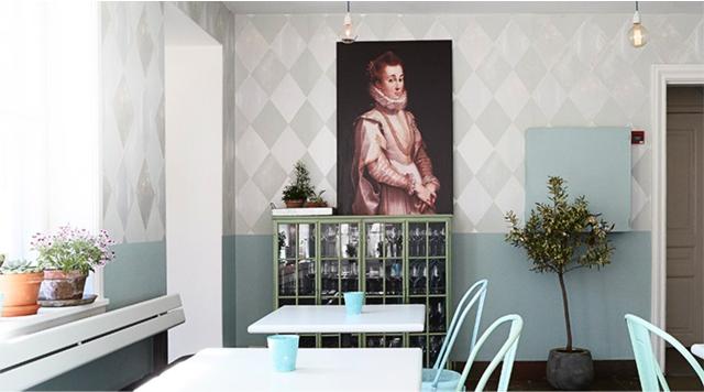 Barts Boekje - Garden Café Rosenborg Kopenhagen