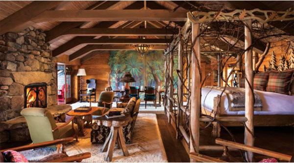 Hotel Lake Placid Lodge Adirondacks New York, Noord-Amerika