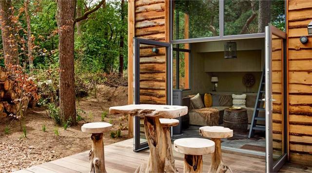 Barts-Boekje- tiny house droompark de zanding