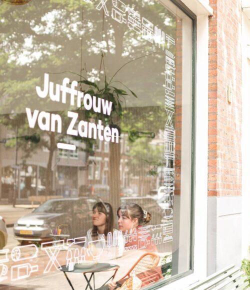 Tweede Juffrouw van Zanten in Rotterdam West