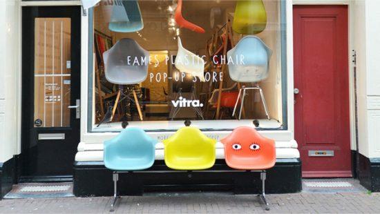 Trend Vitra Stoelen : Trend de hybride pop up shop vitra ikea barts boekje