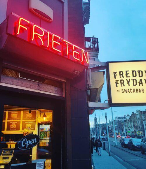 Yes! Freddy Fryday zit nu ook in Amsterdam West