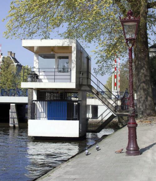 Sweets Hotel Amsterdam: slapen in brugwachtershuisjes