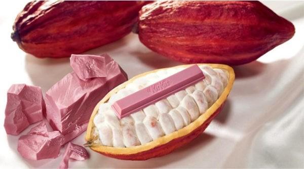 Roze chocolade