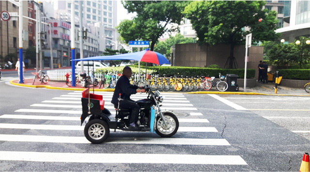 Barts-Boekje- shanghai verkeer