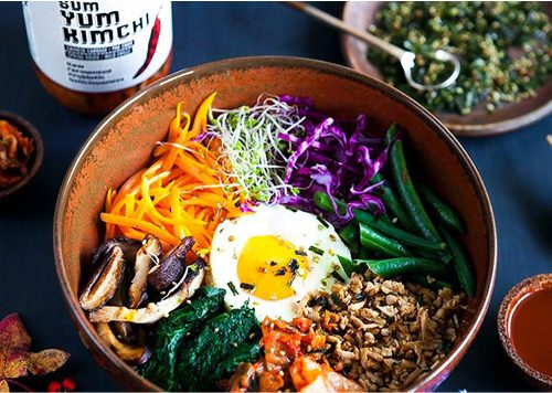 Korean Soul Food Night in Amsterdam Noord