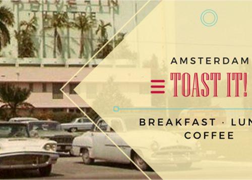 Bijna open: Toast It Amsterdam