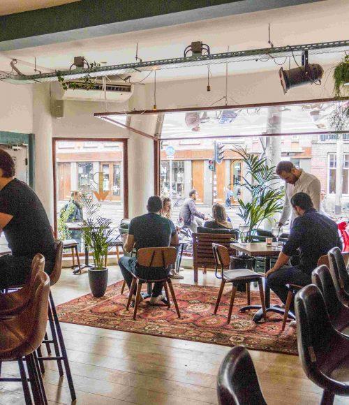 Nieuw: Café Plan West Amsterdam