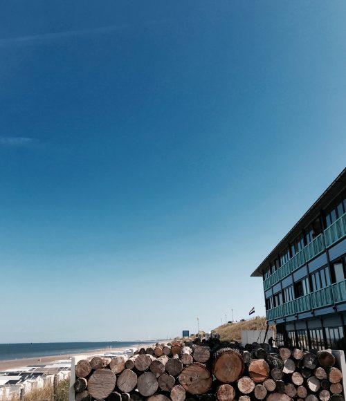 Slapen op het strand bij Beachhouse Hotel Zandvoort