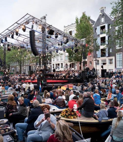 Muziek op de grachten: het Prinsengrachtconcert 2018