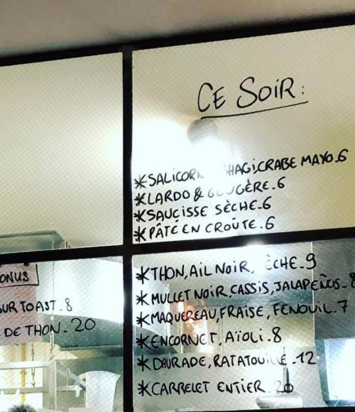 Van de chef van Au Passage in Parijs: Le Grand Bain