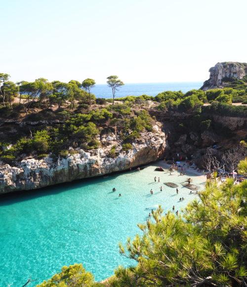 Onwaarschijnlijk knap strandje op Mallorca? Calo des Móro