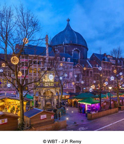 Kerststad Van 2018 Luik Belgie Barts Boekje