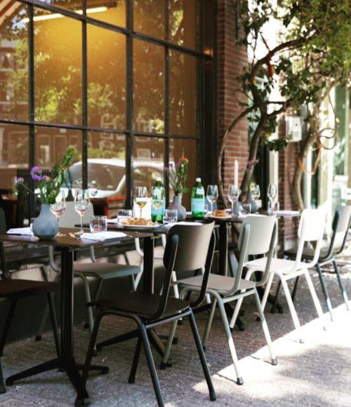 Restaurant Domenica op de Noordermarkt Amsterdam
