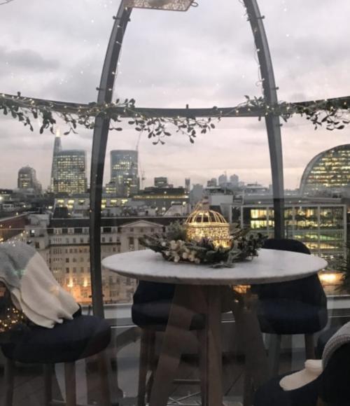 Londen in Kerstsferen: een nieuw lijstje met bars, restaurants en hotels