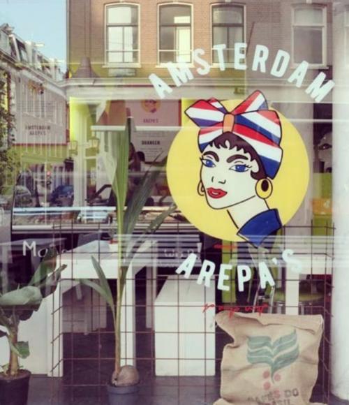 Pop-up broodjes in Amsterdam: de Amsterdam Arepa's