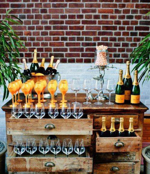 Speak easy champagnebar JP Bubbel Atelier in Amsterdam + wijncafé Pipistrello