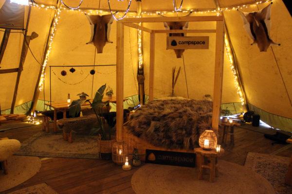 Winnen: winterkamperen in het centrum van Leiden