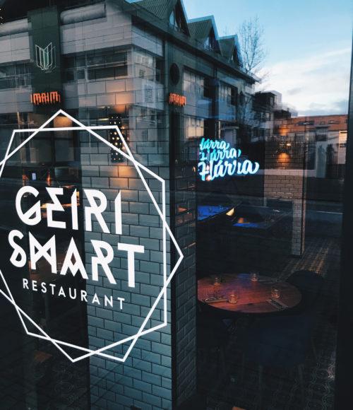 24 uur in IJsland: Eten bij Geiri Smart, Reykjavik